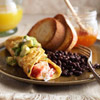 Seafood Omelet with Avocado Salsa