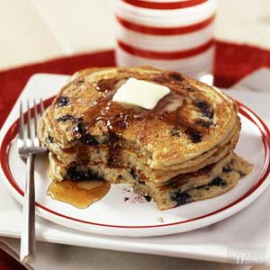 Pick-A-Grain Fruit Pancakes