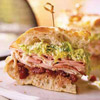 Mile-High Muffuletta-Style Sandwich