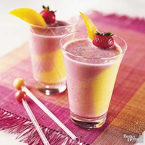 Mixed-Fruit Smoothies
