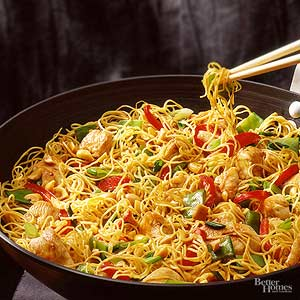 Szechwan Chicken-Pasta Salad