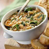Savory Spinach Bean Soup