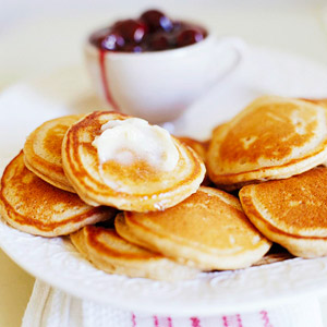 Apple Butter Hotcakes
