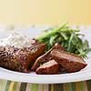Sirloin with Mustard and Chives