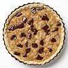 Chocolate Nut Pie with Brandied Cherries