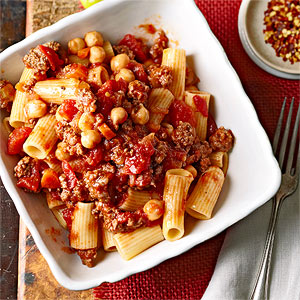 Beef Ragu with Garbanzo Beans