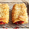Almond-Cherry Pastry Braids