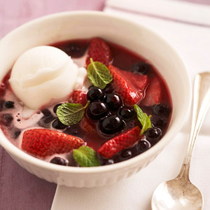 Double Berry Soup
