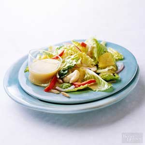 Warm Chicken Salad with Oranges and Almonds