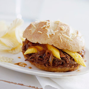 Tangy Barbecue Beef