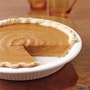 Light and Luscious Pumpkin Pie
