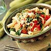 Fresh Tomato and Arugula Pasta