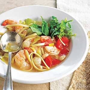 Seafood Minestrone