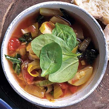 Warm Vegetable Soup Recipes
