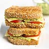 Tomato-Edamame Grilled Cheese
