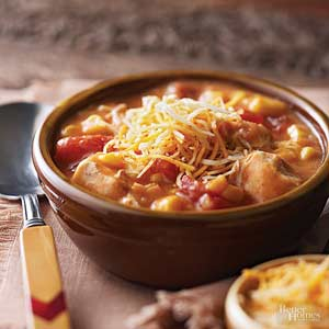 Nacho Cheese Chicken Chowder