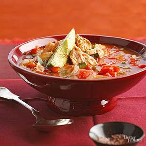 Smoky Tomato Salmon Chowder