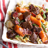 Slow Cooker Burgundy Beef Stew