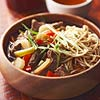 Teriyaki Beef-Noodle Soup