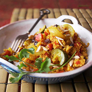 Curried Couscous with Vegetables