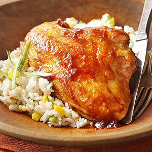 Barbecue-Chutney Chicken