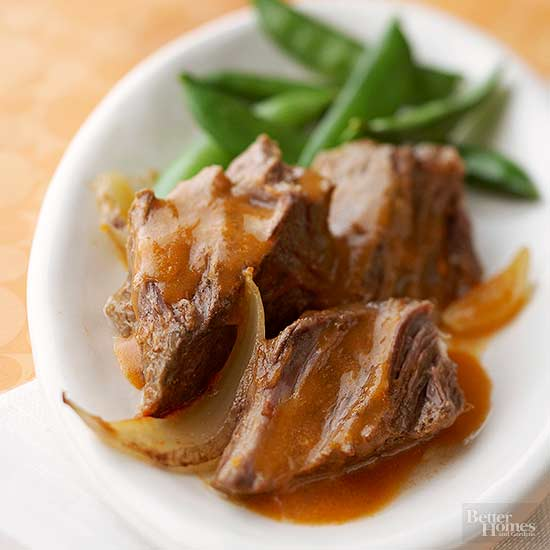 Saucy Piquant Pot Roast