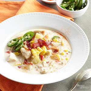 Spicy Chicken-Corn Chowder