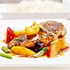 Spicy Chicken Breasts with Fruit