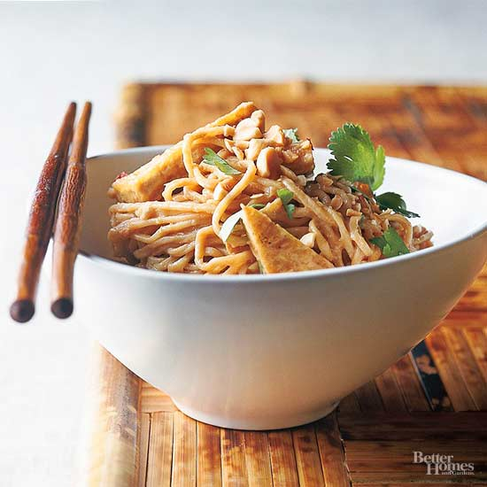 Asian-Inspired Main Dishes