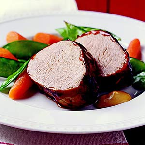Peking Pork Tenderloin with Dijon Sauce