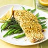 Salmon with Matzo Crust