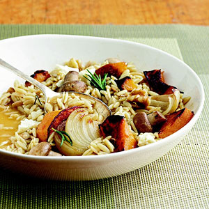 Orzo Risotto with Roasted Vegetables