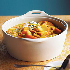 Curried Cider-Pork Stew
