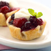 Mixed-Berry Tartlets
