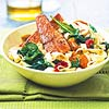 Mediterranean Salmon & Noodle Bowl