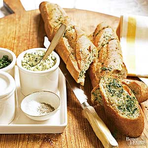 Garlic-Herbed Bread