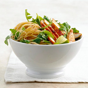 Chicken Noodle Toss with Greens