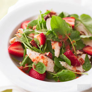 Strawberry-Spinach Salad with Citrus Dressing
