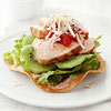 Kiwi Chicken Tostadas
