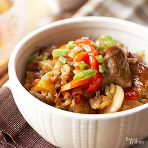 Hot-Spiced Pork and Rice