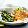 Fish and Green Beans with Wasabi Mayonnaise