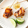Caramelized Salmon Skewers