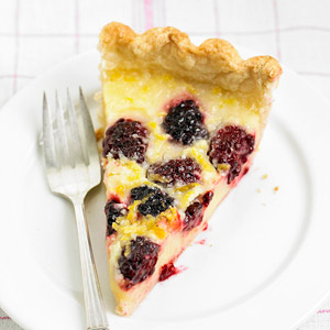 Lemon-Blackberry Pie