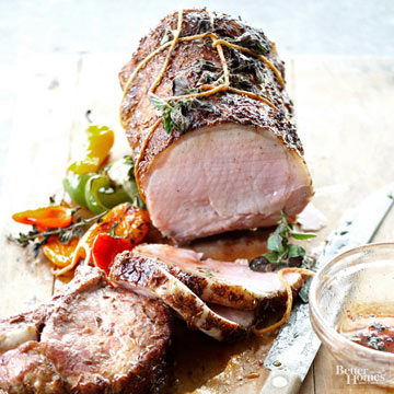 Classic Pork Roast with a Twist