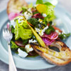 Garden Salad with Balsamic Dressing & Herb Feta