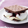 White Chocolate and Blackberry S'Mores