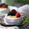 Lemon Beehive Meringues