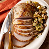 Pork Roast with Eggplant and White Beans