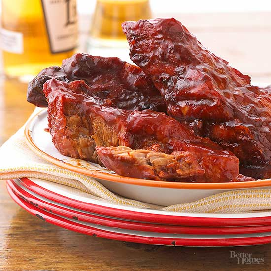 Barbecued Country Ribs Dinner