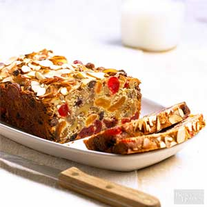Chocolate Nut Fruitcake